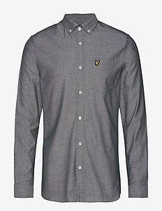 Slim Fit Oxford Shirt - JADE GREEN