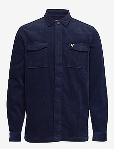 Cord Overshirt - NAVY