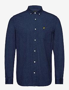 Indigo LS Shirt - peruspaitoja - indigo blue