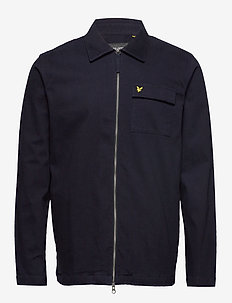 Twill Overshirt - DARK NAVY