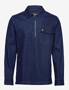 Indigo LS Shirt - chemises basiques - indigo blue