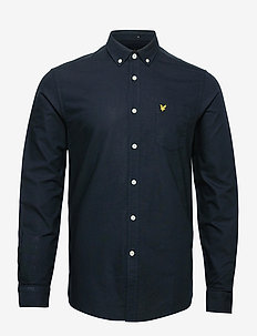 Regular Fit Light Weight Oxford Shirt - podstawowe koszulki - dark navy