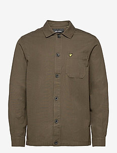 Cotton Ripstop overshirt - hauts - w123 trek green