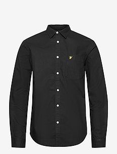 Cotton Ripstop Shirt - chemises basiques - z865 jet black