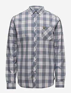 Check Shirt - DUSK BLUE