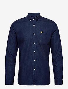 Denim Shirt - casual - indigo blue