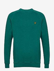 Washed Sweatshirt - ALPINE GREEN