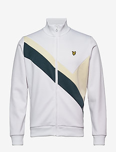 Archive Panel Funnel Neck - sweatshirts - white