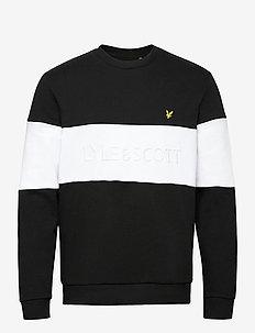 Logo Sweatshirt - perus-college-paitoja - jet black