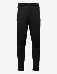 Tricot Sweatpant With Side Stripe - sweatpants - jet black