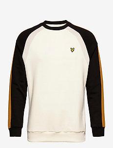 Three Panel Sweatshirt - basic sweatshirts - vanilla ice