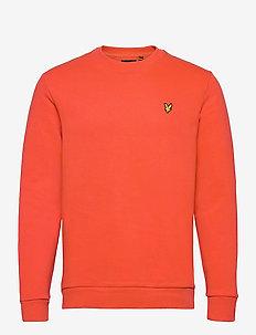 Ripstop Panel Sweatshirt - sweats basiques - w280 burnt orange