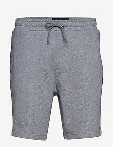 Sweat Short - casual shorts - mid grey marl