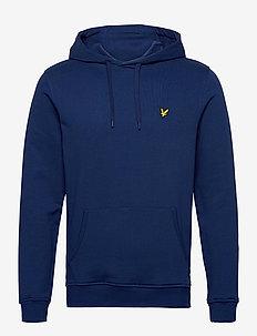 Pullover Hoodie - hættetrøjer - indigo