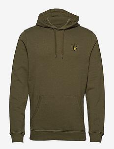 Pullover Hoodie - hættetrøjer - lichen green