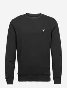 Crew Neck Sweatshirt - sweats - jet black