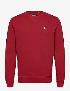 Crew Neck Sweatshirt - basic sweatshirts - chilli pepper red