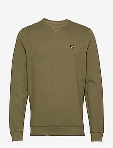 Crew Neck Sweatshirt - basic sweatshirts - lichen green