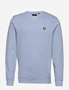 Crew Neck Sweatshirt - sweats basiques - pool blue