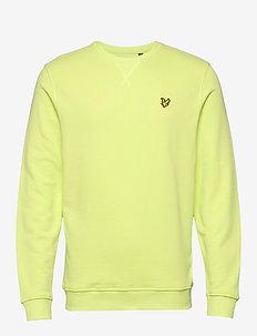 Crew Neck Sweatshirt - basic sweatshirts - sharp green