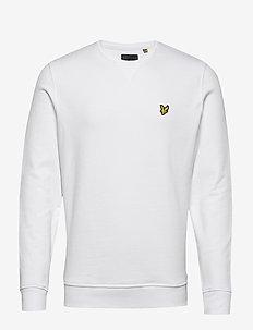 Crew Neck Sweatshirt - sweats basiques - white