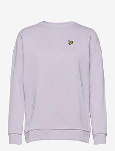 Oversized Sweatshirt - sweatshirts - heather