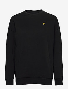Oversized Sweatshirt - sweatshirts - jet black