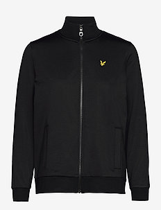 Tricot Funnel Neck - mid layer jackets - jet black