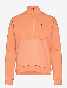 1/2 Zip Funnel Neck - sweatshirts et sweats à capuche - dusk orange