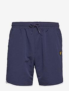 Piping Shorts - NAVY