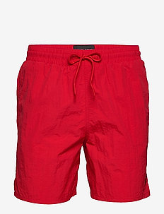 Plain Swim Short - badebukser - gala red