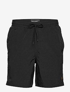 Plain Swim Short - JET BLACK