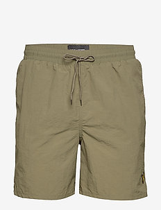 Plain Swim Short - LICHEN GREEN