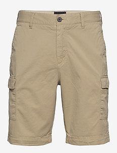 Cargo Shorts - cargo shorts - stone