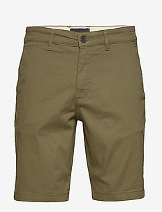 Chino Short - chinos shorts - lichen green