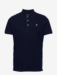 Indigo Polo Shirt - short-sleeved polos - indigo