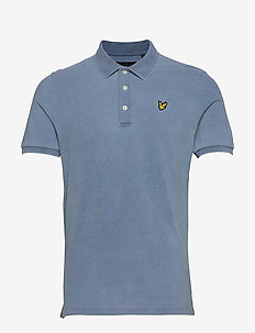 Indigo Polo Shirt - kurzärmelig - light indigo