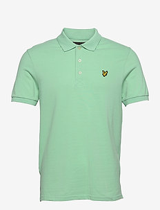 Plain Polo Shirt - kortærmede - sea mint