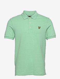 Plain Polo Shirt - polos à manches courtes - sea mint