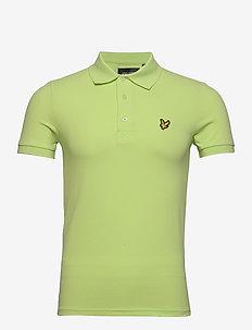 Plain Polo Shirt - kortærmede - sharp green