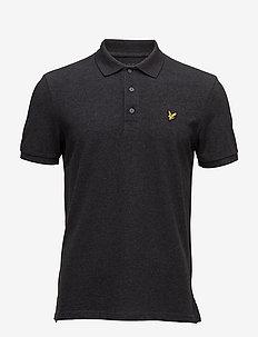 Polo Shirt - kortermede - charcoal marl