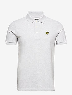 Polo Shirt - polos à manches courtes - light grey marl