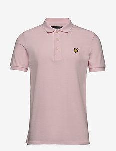 Polo Shirt - korte mouwen - strawberry cream