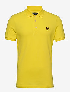 Slim Stretch Polo Shirt - krótki rękaw - buttercup yellow