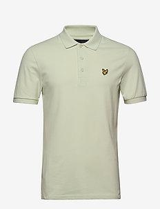 Slim Stretch Polo Shirt - lyhythihaiset - cloud mint