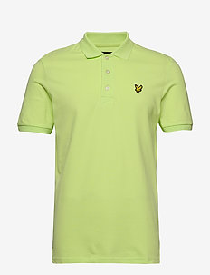 Slim Stretch Polo Shirt - korte mouwen - sharp green