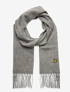 Lambswool Scarf - Écharpes - mid grey marl