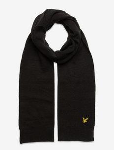 Scarf - halsdukar - true black