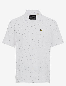 Printed Resort Shirt - WHITE