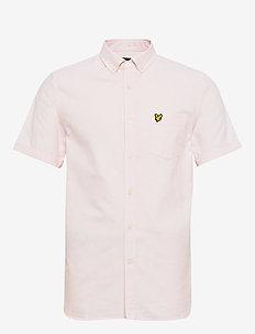 SS Oxford Shirt - basic-hemden - strawberry cream/ white